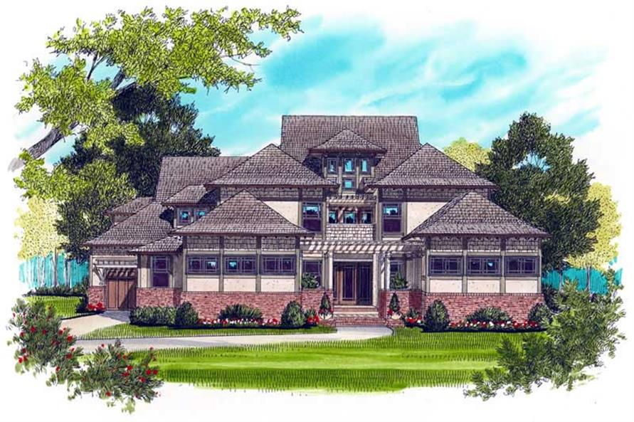 Main image for house plan # 17361