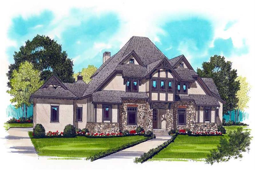 Main image for house plan # 17356