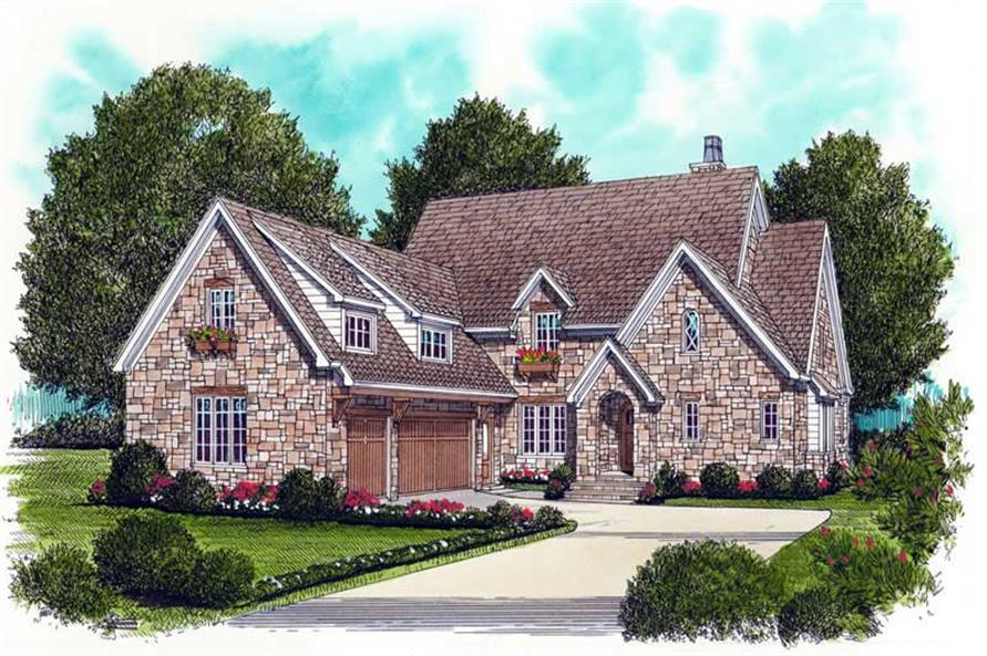 Main image for house plan # 18791