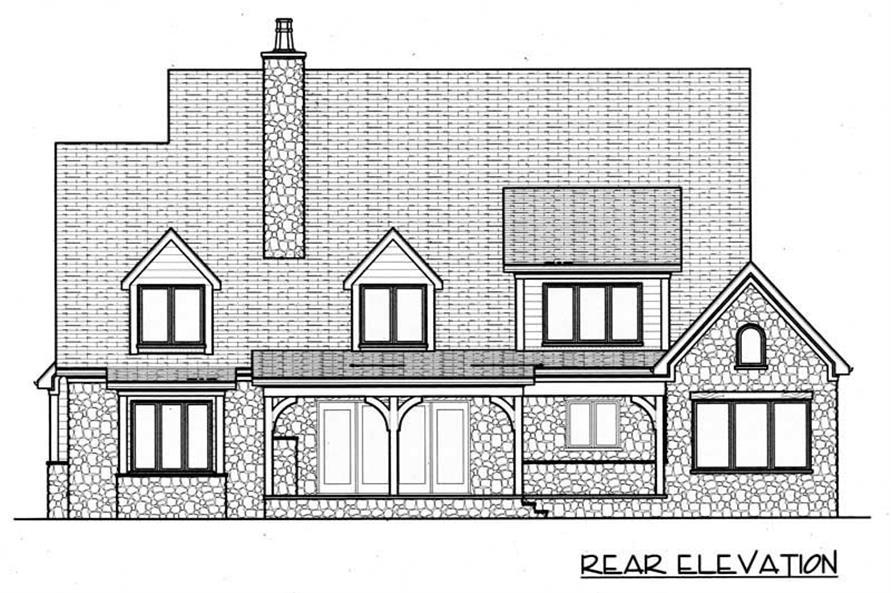 House Plan #127-1011