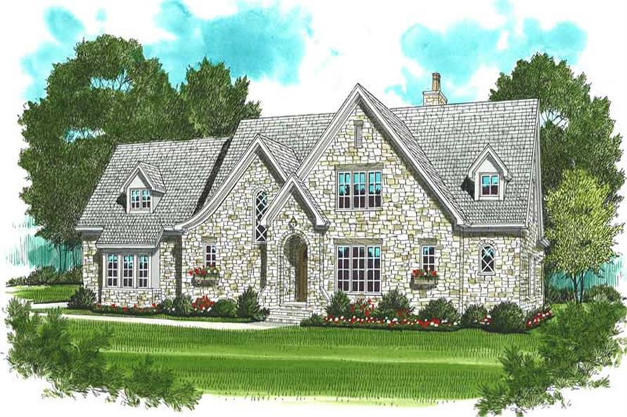Main image for house plan # 18789