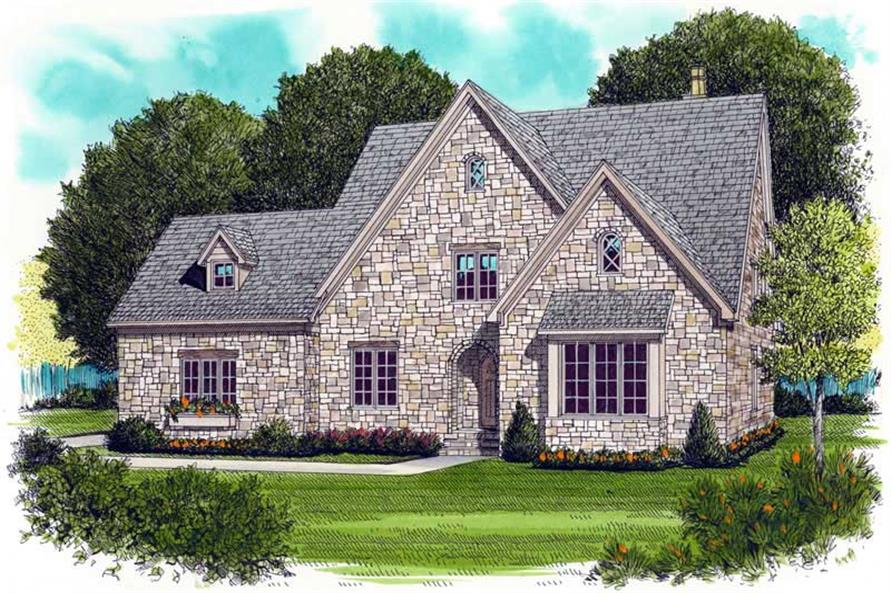Main image for house plan # 18788