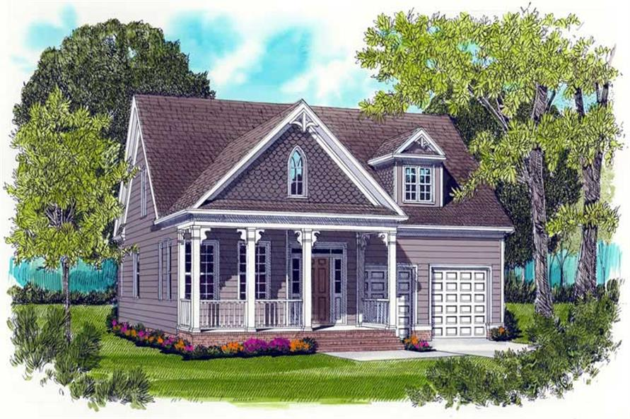 Main image for house plan # 17296