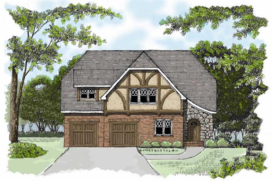 Main image for house plan # 17293