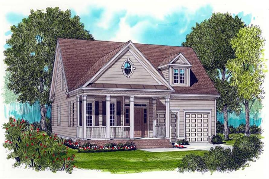 Main image for house plan # 17294