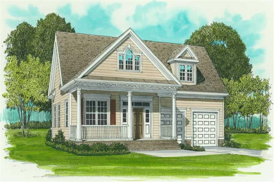 Main image for house plan # 17273