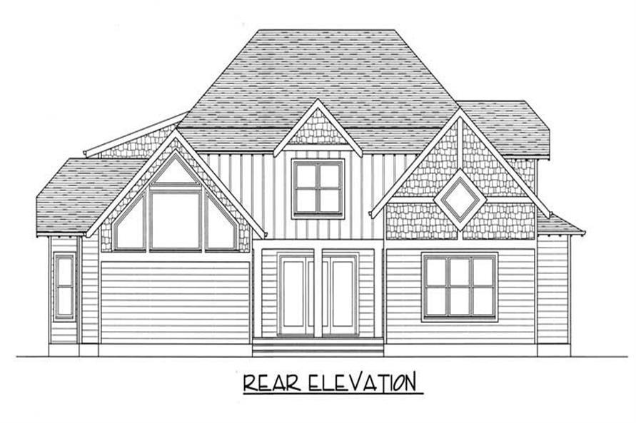 House Plan #127-1040