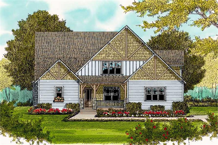 Main image for house plan # 19781