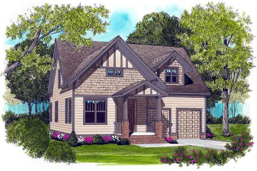 Main image for house plan # 17295
