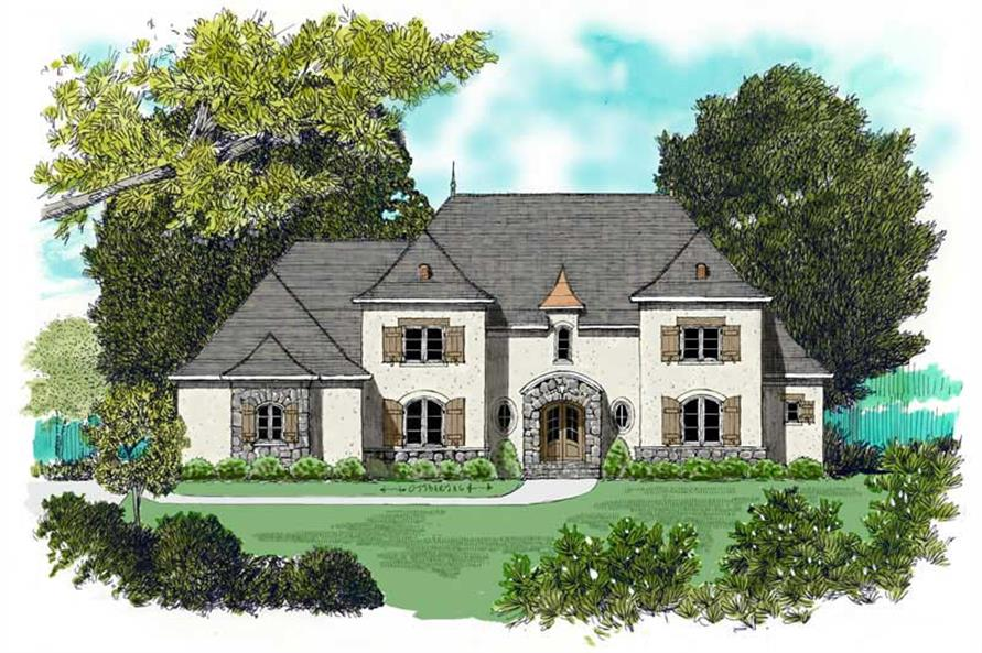 Main image for house plan # 17357