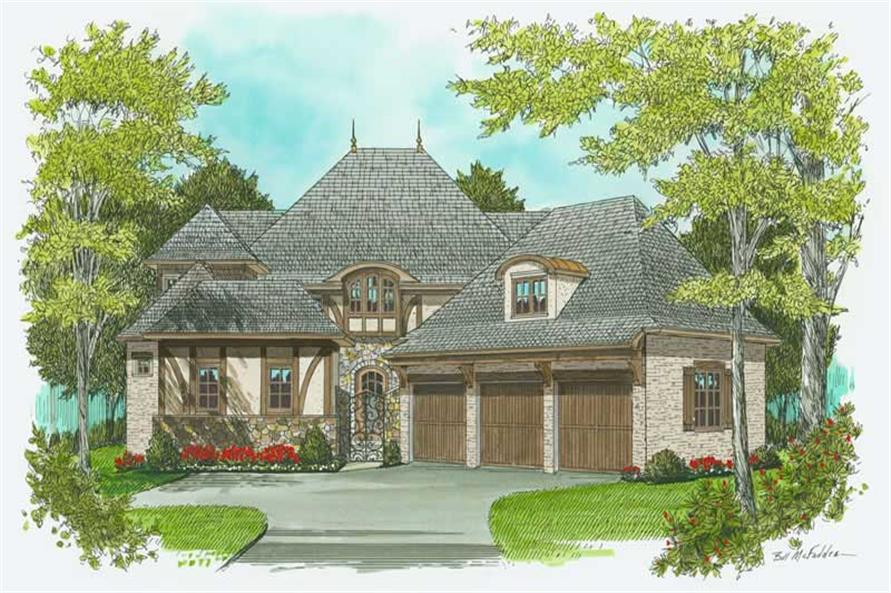 Main image for house plan # 17345