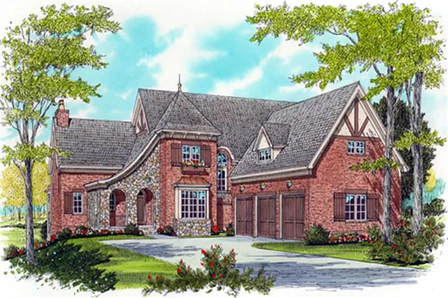 Main image for house plan # 17338