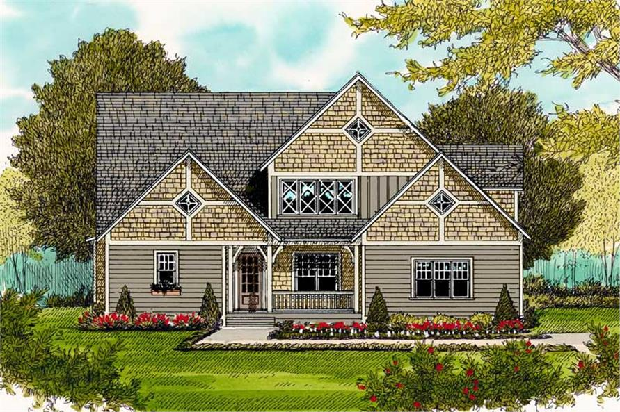 Main image for house plan # 19577