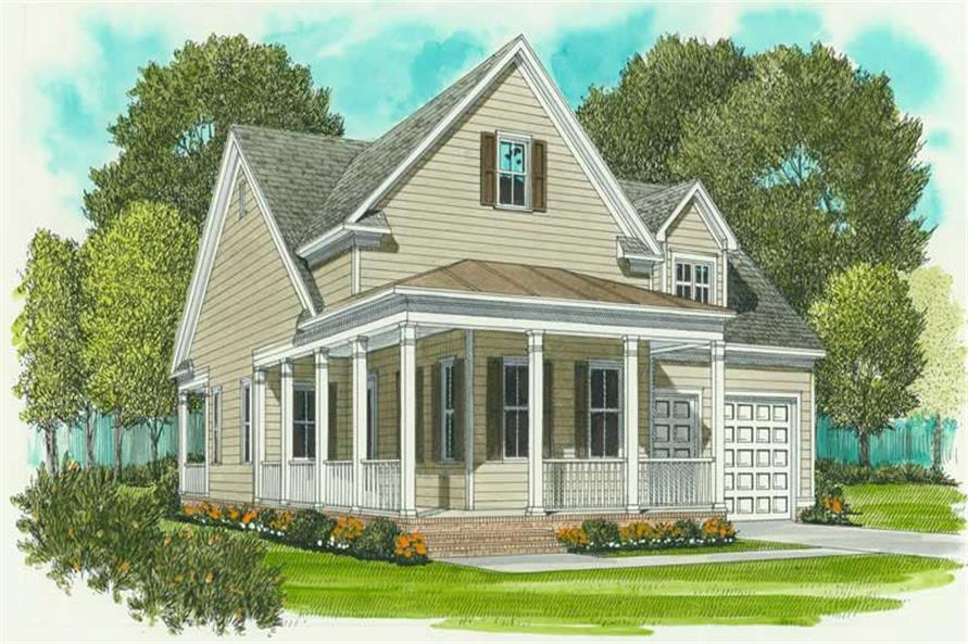 Main image for house plan # 17278