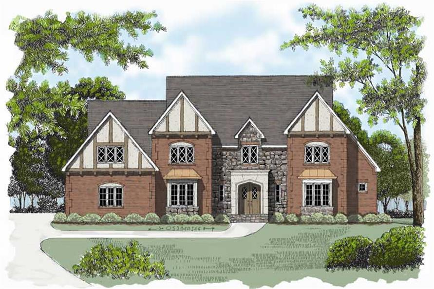Main image for house plan # 17354
