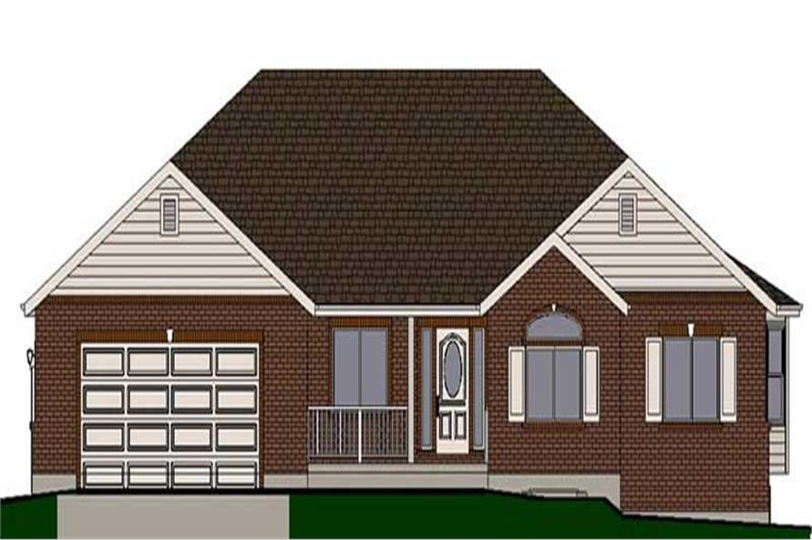 Main image for house plan # 18915