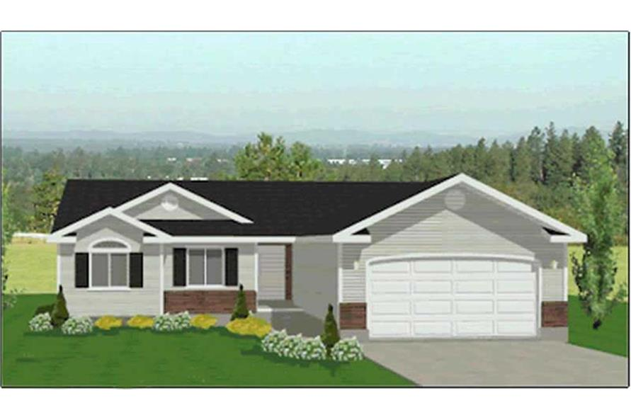 Main image for house plan # 6534