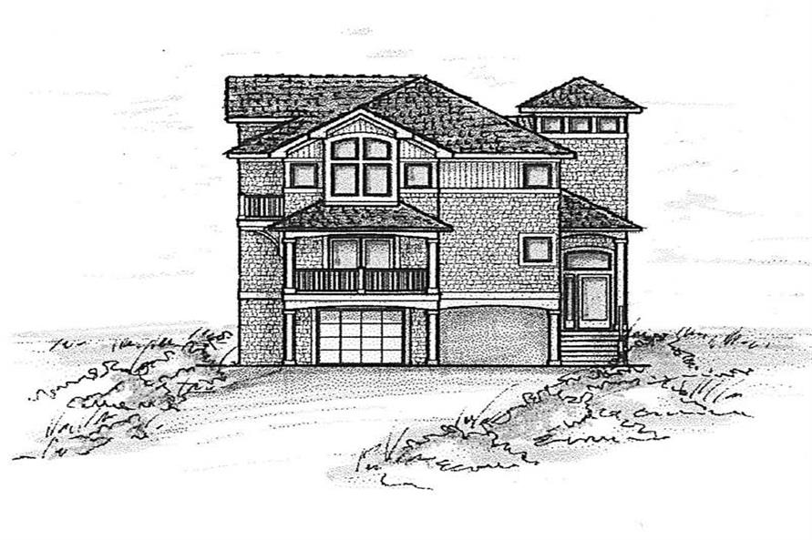 Main image for house plan # 16851