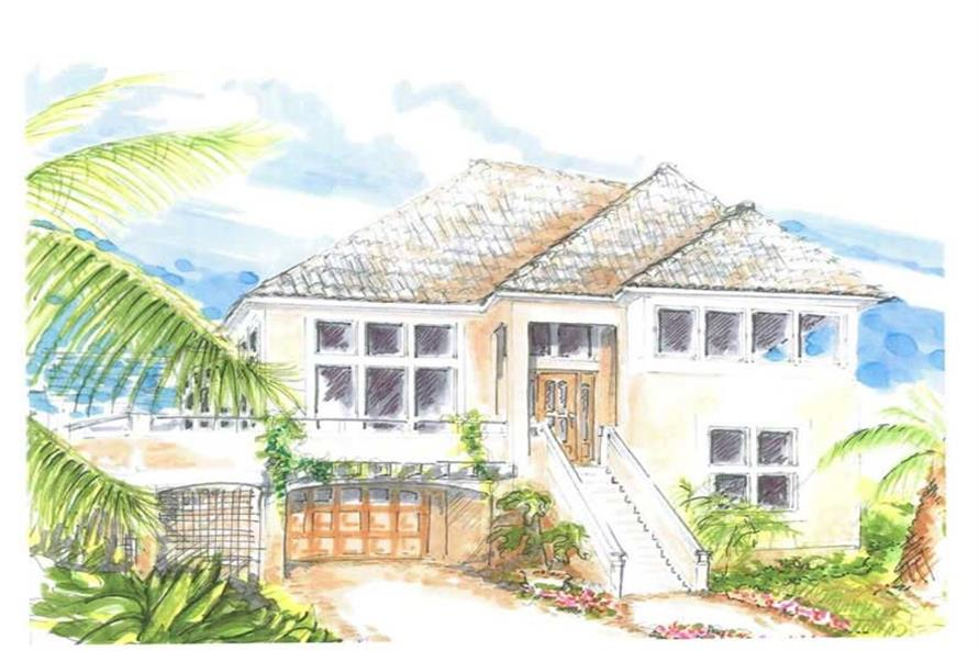 Main image for house plan # 16766