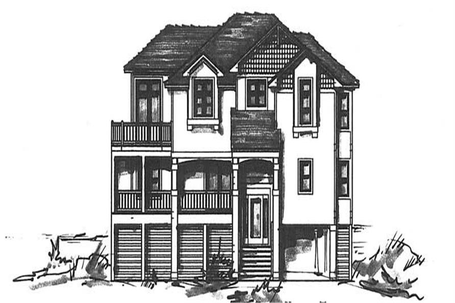 Main image for house plan # 16764