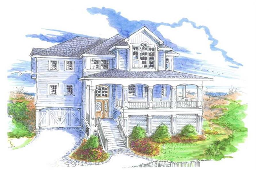 Main image for house plan # 16767
