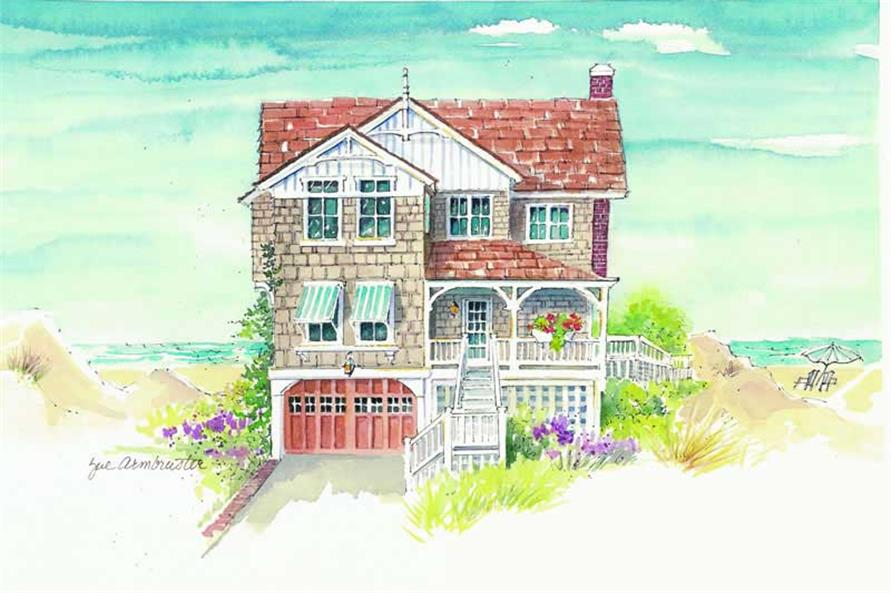 Main image for house plan # 16949
