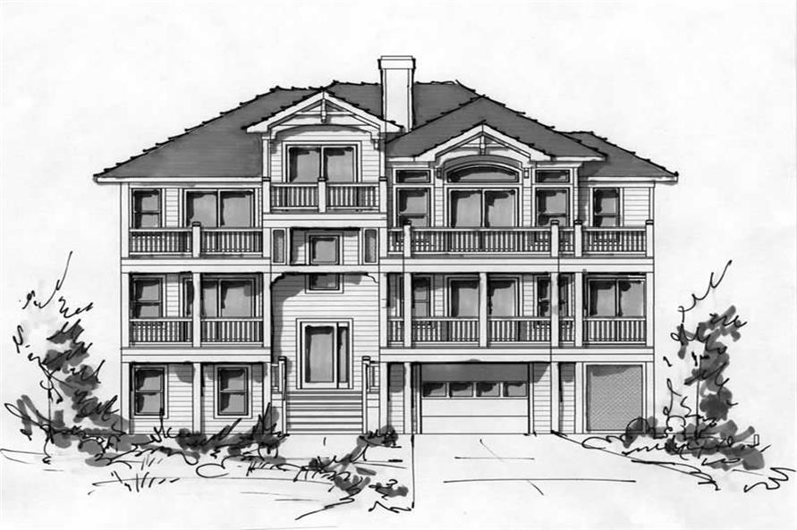 Main image for house plan # 16793