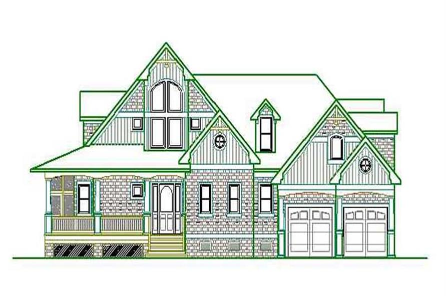 Main image for house plan # 16786