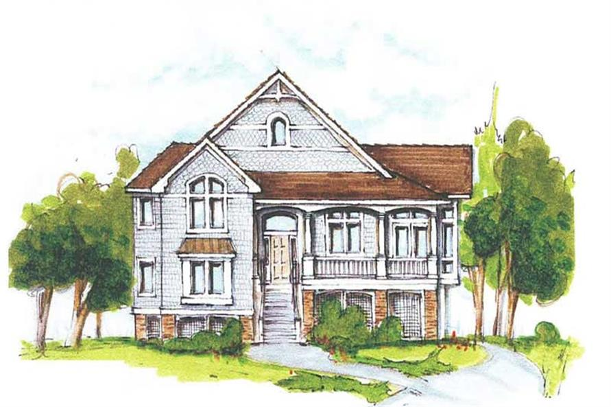 Main image for house plan # 16775