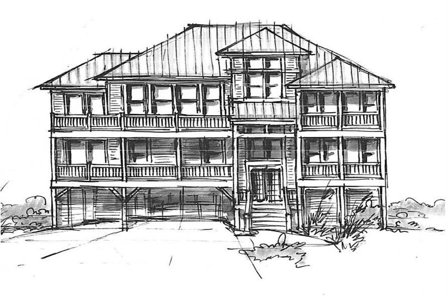Main image for house plan # 16774