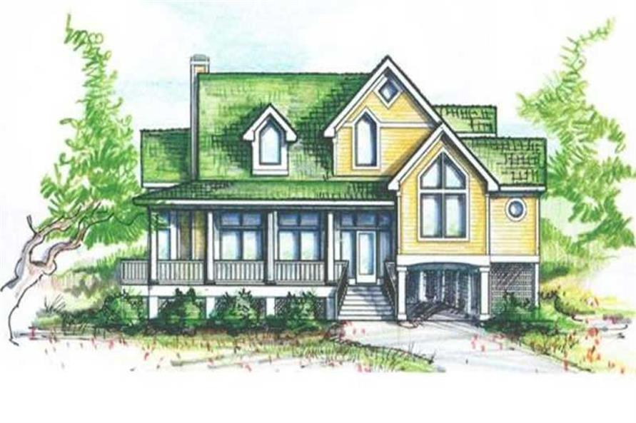 Main image for house plan # 16772