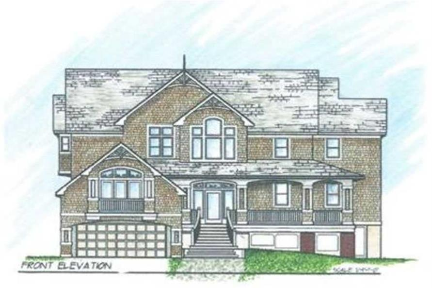 Main image for house plan # 16903