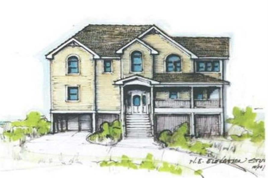 Main image for house plan # 16789