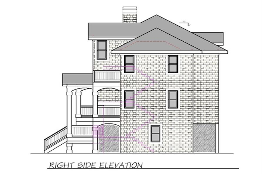 130-1070 right elevations