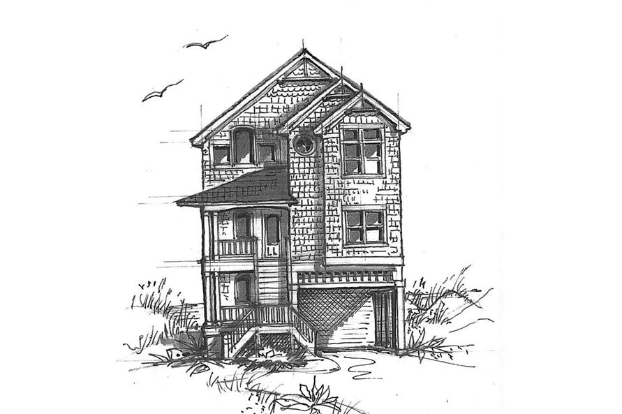Main image for house plan # 16852