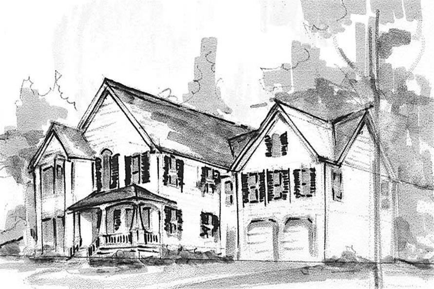 Main image for house plan # 16867