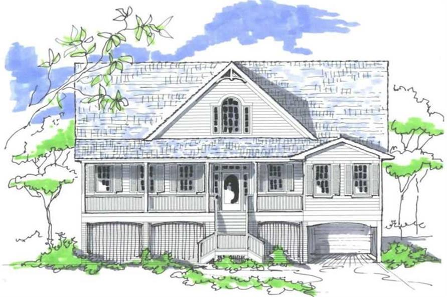Main image for house plan # 16783