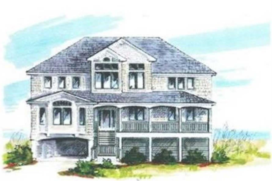 Main image for house plan # 16858