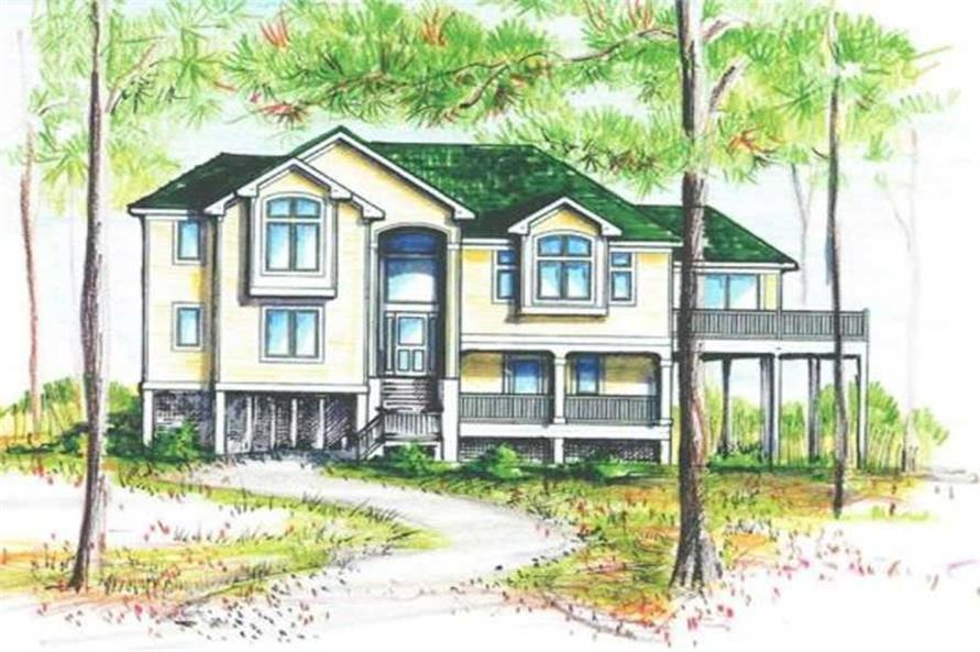 Main image for house plan # 16873