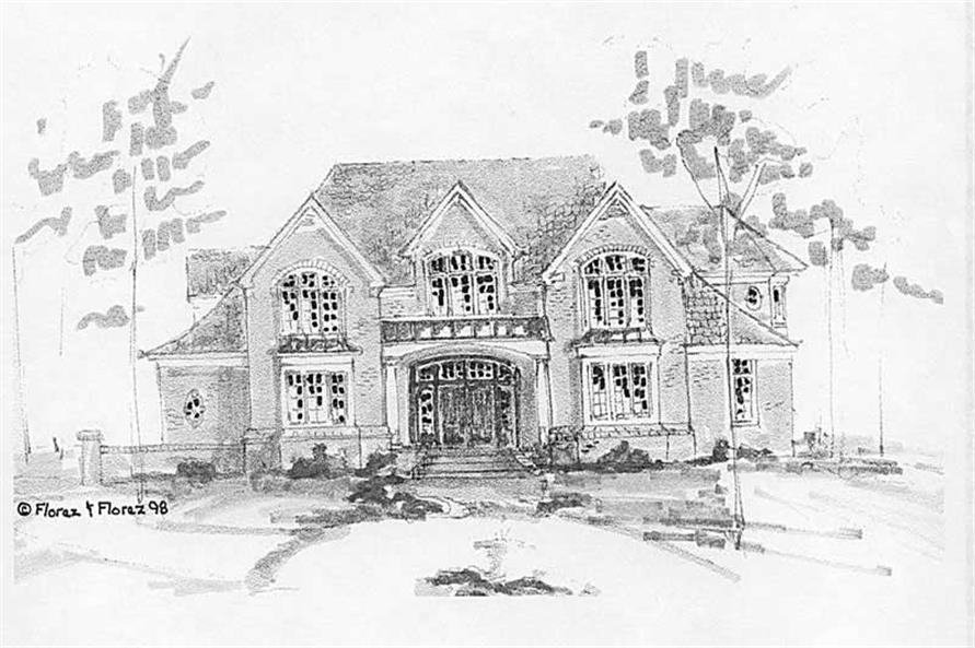 Main image for house plan # 16901