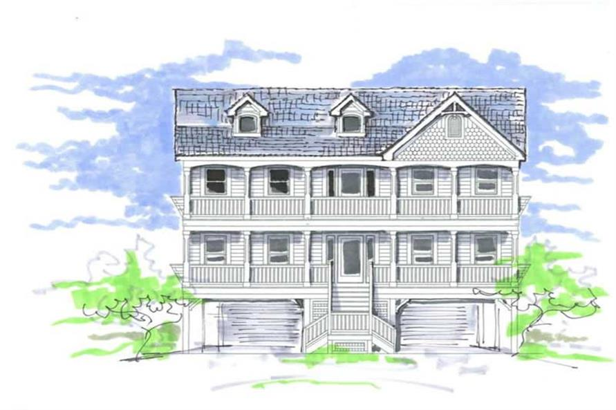 Main image for house plan # 16802