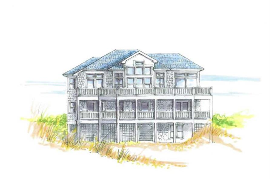 Main image for house plan # 16780