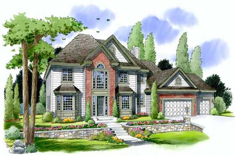 Main image for house plan # 20028
