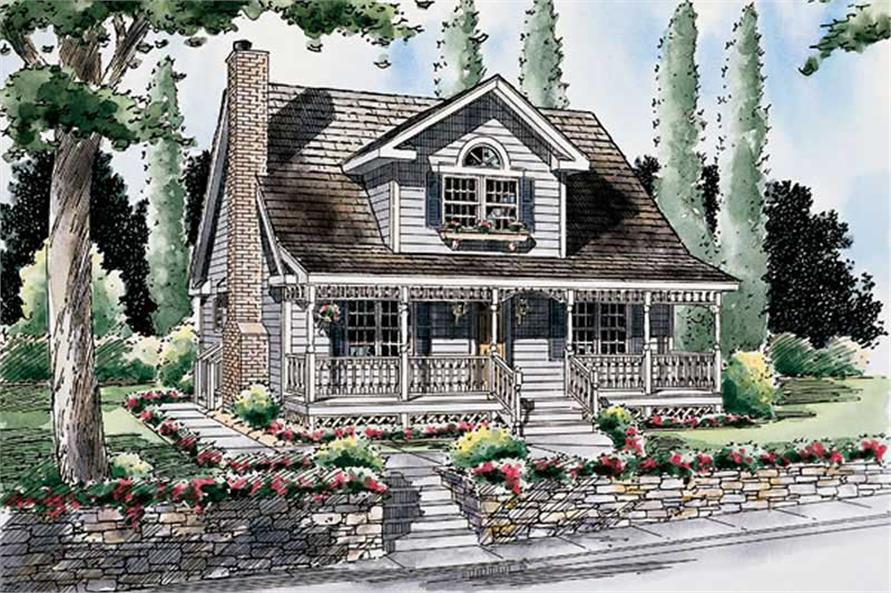 Main image for house plan # 20064