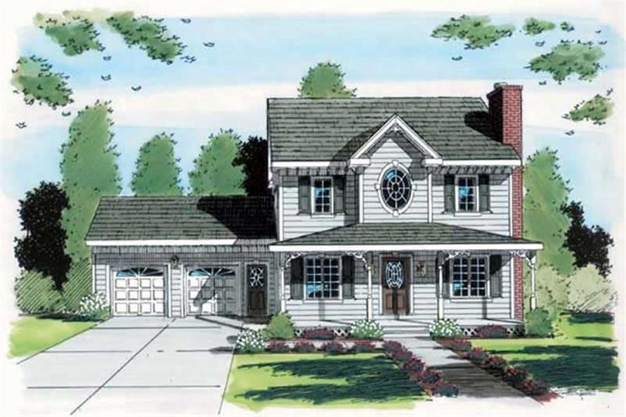 Main image for house plan # 20067