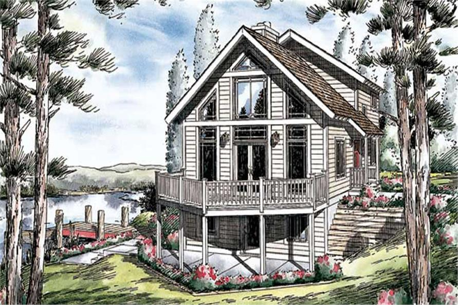 Main image for house plan # 20060