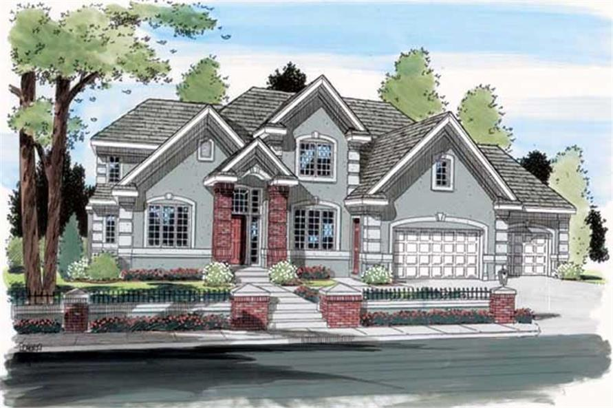 Main image for house plan # 20034