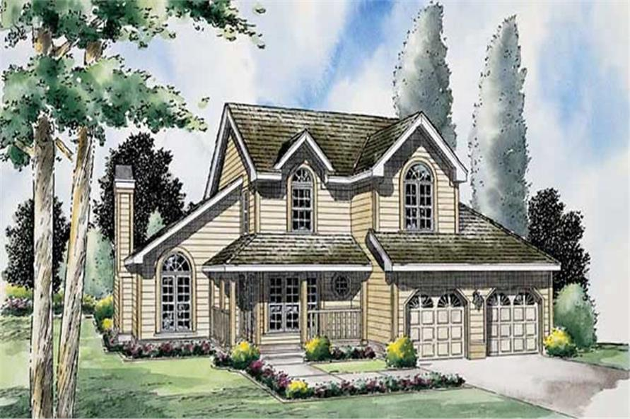 Main image for house plan # 20046