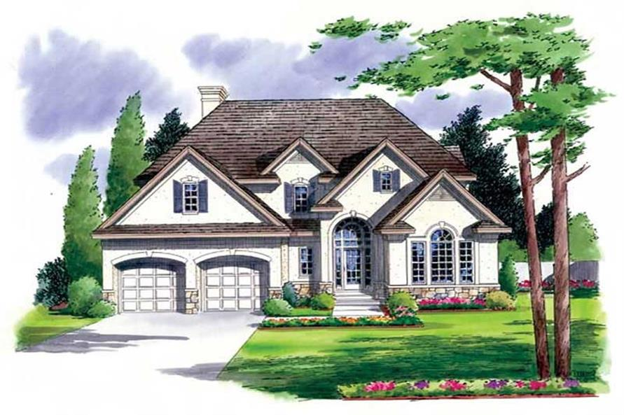 Main image for house plan # 20045