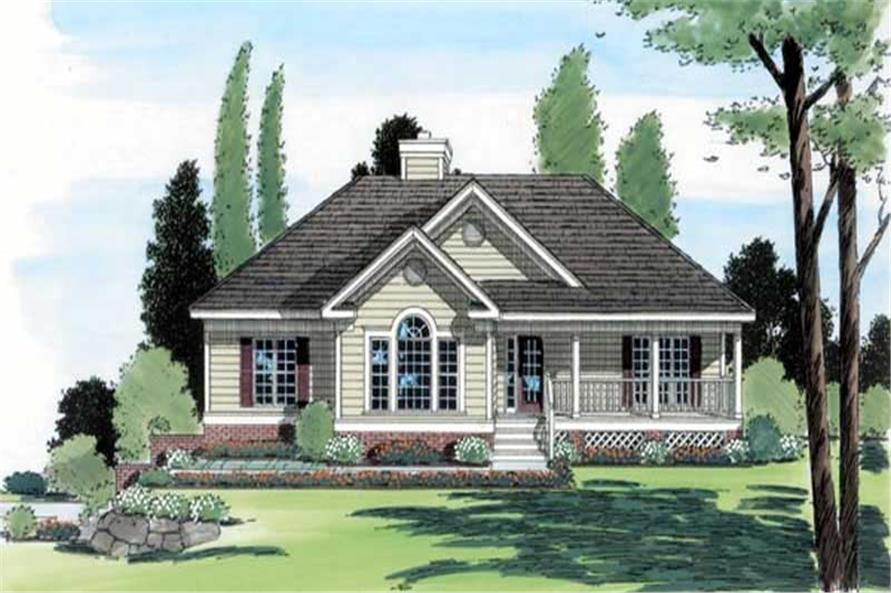 Main image for house plan # 20043